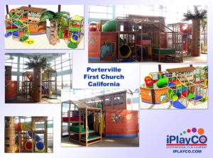 Installs - Indoor Play - Church Ministries - Porterville First Church California