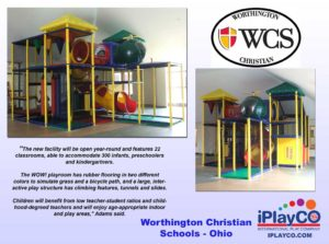 Installs - Indoor Play - Church Ministries - Worthington-Christian---was-Grace-Brethren----Ohio