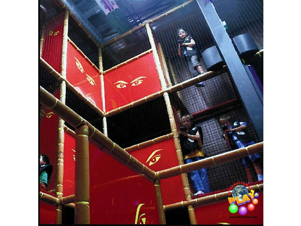 Laser-Tag-3, Indoor Playground Equipment, Contained Play