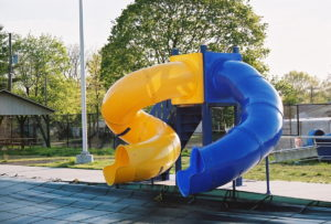 MODEL 2100 PHOTO 3, slide, water slide