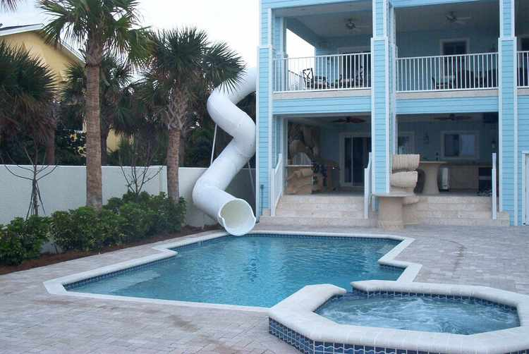 Pool Slide, Water Slide, 100