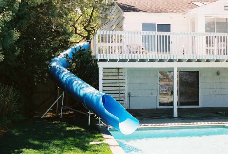 Pool Slide, Water Slide, 150
