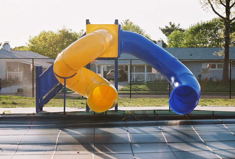 Pool Slide, Water Slide, 2100