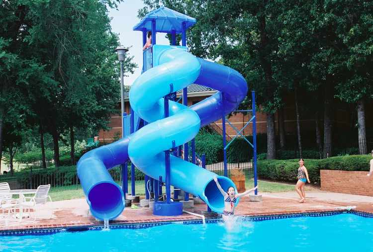 Pool Slide, Water Slide, 2300