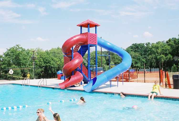 Pool Slide, Water Slide, 2400