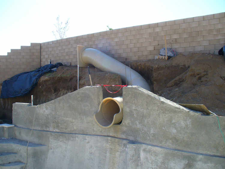 Pool Slide, Water Slide, 250