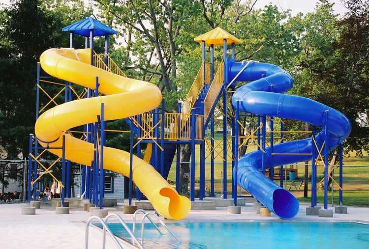 Pool Slide, Water Slide, 2500