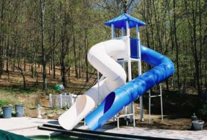 Pool Slide, Water Slide, 2900
