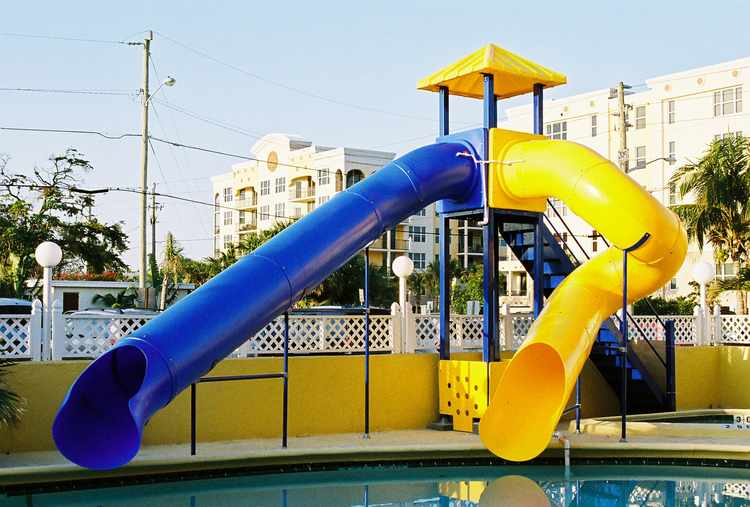 Pool Slide, Water Slide, 2950