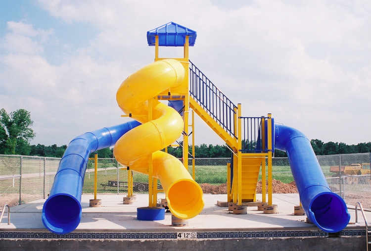 Pool Slide, Water Slide, 3300