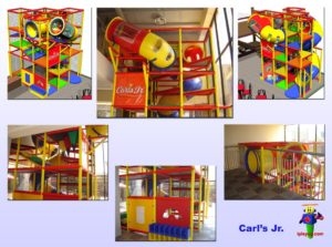 Restaurant Installations - Indoor Playground Equipment - Carls-Jr-Guadalajara-Jalisco-Mexico