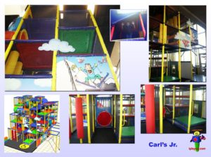 Restaurant Installations - Indoor Playground Equipment - Carls-Jr-Nampa