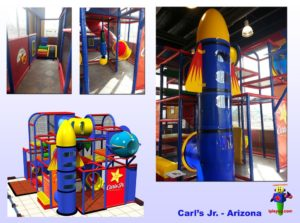 Restaurant Installations - Indoor Playground Equipment - Carls-Jr-Safford-Arizona