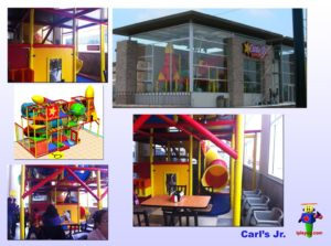 Restaurant Installations - Indoor Playground Equipment - Carls-Jr-Tampico-MX