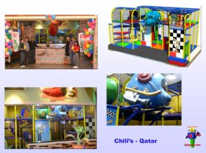 Restaurant Installations - Indoor Playground Equipment - Chilis-Al-Khor-Mall-Qatar-