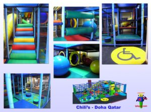 Restaurant Installations - Indoor Playground Equipment - Chilis-Doha-Qatar
