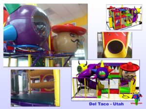 Restaurant Installations - Indoor Playground Equipment - Del-Taco-Layton-UT