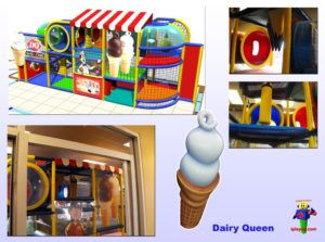 Restaurant Installations - Indoor Playground Equipment - Diary-Queen-Steinbach-Manitoba