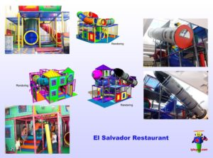 Restaurant Installations - Indoor Playground Equipment - El-Salvador-Restaurant