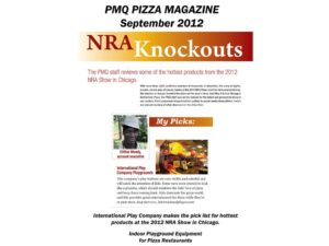 Restaurant Installations - Indoor Playground Equipment - PMQ-Magazine-NRA-SHOW