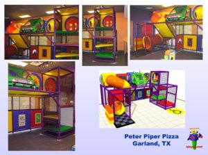 Restaurant Installations - Indoor Playground Equipment - Peter-Piper-Garland-TX