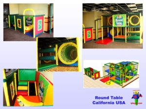 Restaurant Installations - Indoor Playground Equipment - Round-Table-restaurant