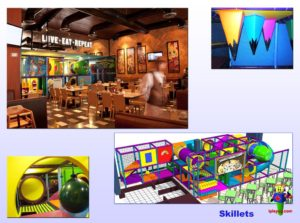 Restaurant Installations - Indoor Playground Equipment - Skillets