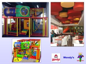 Restaurant Installations - Indoor Playground Equipment - Wendys-Gomez