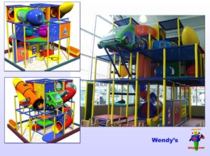 Restaurant Installations - Indoor Playground Equipment - Wendys-Monterrey-Mexico-job-2084