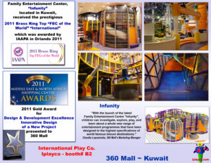 Shopping Center and Retail Installations - 360 Mall install by Iplayco