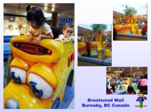 Shopping Center and Retail Installations - Brentwood Mall Burnaby BC