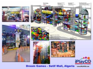 Shopping Center and Retail Installations - Dream-Games-Setif-Mall-Algeria