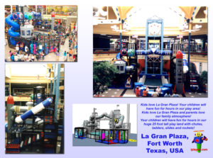 Shopping Center and Retail Installations - Fort Worth Town Center TX