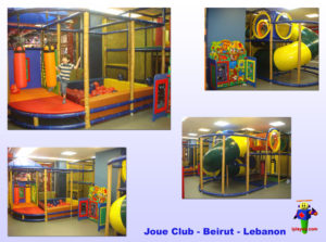 Shopping Center and Retail Installations - Joue Club - Beirut - Lebanon
