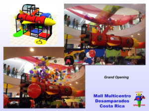 Shopping Center and Retail Installations - Mall Multicentro Desamparados Costa Rica job2370