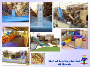 Shopping Center and Retail Installations - Mall of Arabia - International Play Company