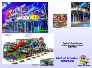 Shopping Center and Retail Installations - Mall of Istanbul Turkey - MoiPark
