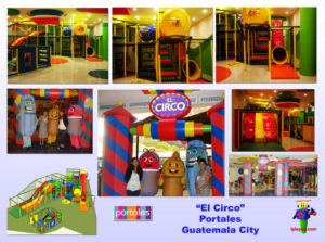 Shopping Center and Retail Installations - Spectrum Mall Portales Guatemala installation