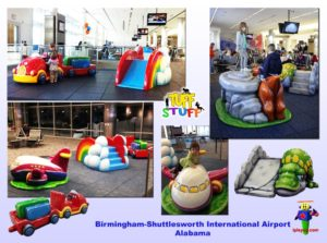 Specialty Installation - Indoor Playround Equipment - Birmingham-Shuttlesworth-International-Airport-Alabama