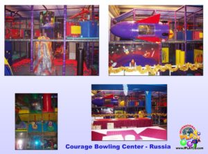 Specialty Installation - Indoor Playround Equipment - Courage-Bowling-Center-Russia