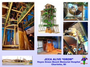 Specialty Installation - Indoor Playround Equipment - JCCA-ALIVE-Hayes-Green-Beach-Memorial-Hospital-MI