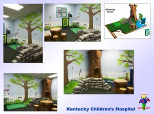 Specialty Installation - Indoor Playround Equipment - Kentucky-Childrens-Hospital