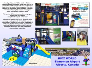 Specialty Installation - Indoor Playround Equipment - Kidz-World-Edmonton-Airport-installationt
