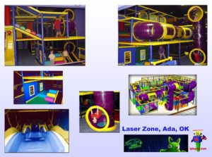 Specialty Installation - Indoor Playround Equipment - Laser-Zone-OK-install