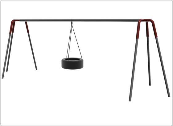 Swings - Heavy Duty Tripod Tire Swing