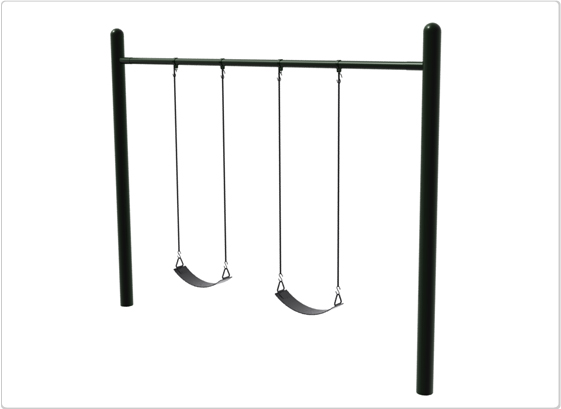 Swings - Single Post Swing - 2 Seat