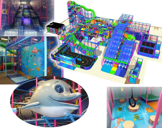 Custom Theming, Indoor Play equipment