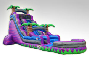 Inflatables Combo WS 1039 FT. Purple Crush, Water Slide