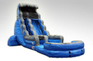 Inflatables Combo WS 1038 FT. Laguna Waves Single Lane, Water Slide
