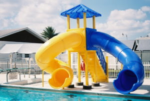 model 2100 New Northport, slide, water slide